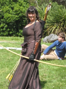 Archery at SCA event last weekend