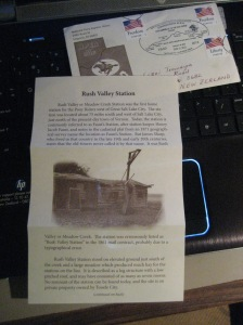 A 2013 Pony Express Commemorative Letter! In NZ!