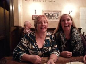 More new friends at great Belgian restaurant Leuven