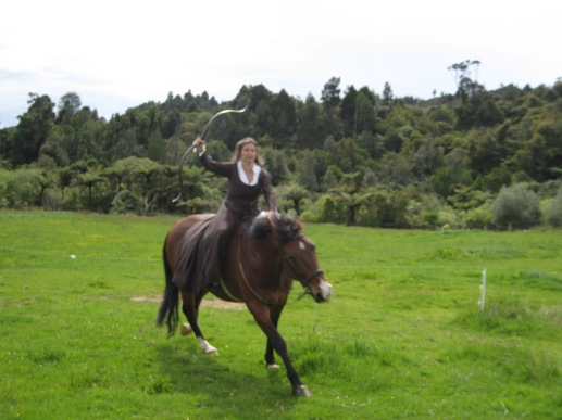 A bit of Horseback Archery in New Zealand!